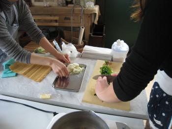 久留米市 大川市 八女市 柳川市 料理教室 ファーマーズ・スタジオ ほうれん草のスープ