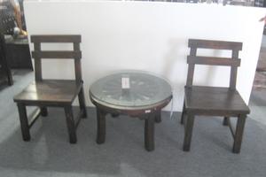 椅子と机のセット例
