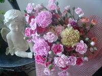 たくさんの花束☆