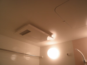 一日一風水 浴室はしっかり換気して運気アップ