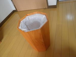 ゴミ箱に蓋をしないと悪い気が部屋に充満する