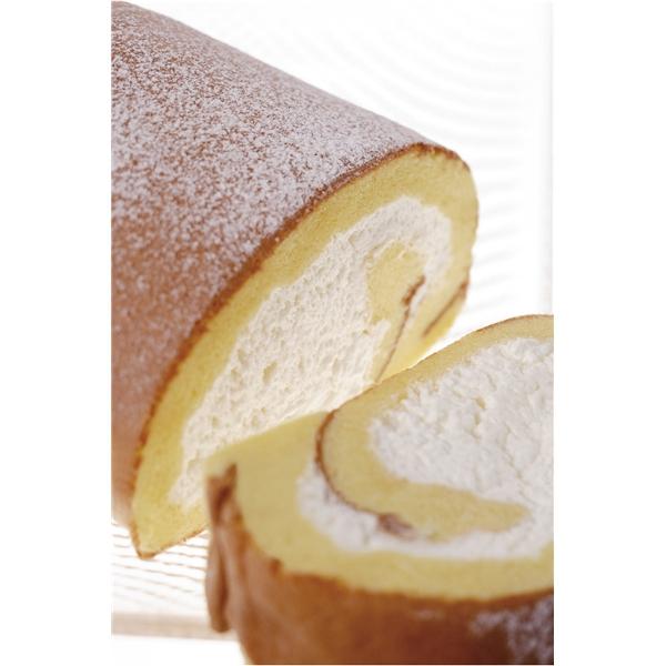 ほっぺが落ちそうな、北海道クリーム、ロールケーキ。