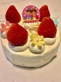 ひな祭りケーキ ♪