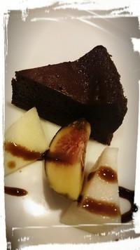 チョコレートケーキ ~♪