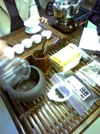 中国茶ミニレッスンなう