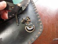 サイドバッグの修理