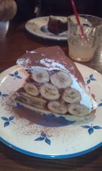 バナナたっぷりタルト