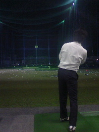 ゴルフレッスン。