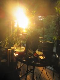 晩夏と初秋~手を取り合って・・・今日のアトリエ風景