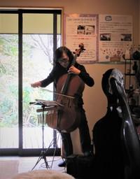 吉川よしひろ Cello Xmas✭Home Concert♪ & 次回の桜LIVEのお知らせ♪
