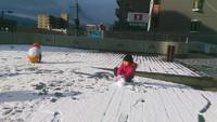 雪遊び 2016