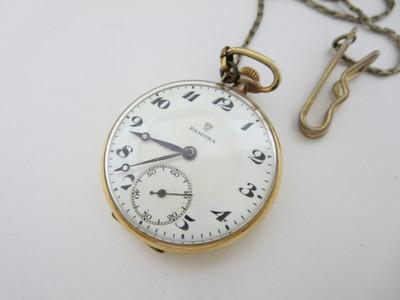 K18懐中時計