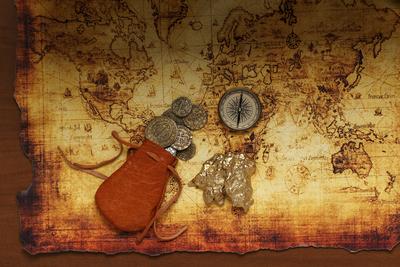 海賊・地図
