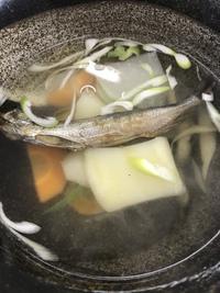 シシャモ汁❣️イン北海道むかわ町(。^~^。)