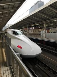 新幹線のお尻は❓(*・ω・)…❓