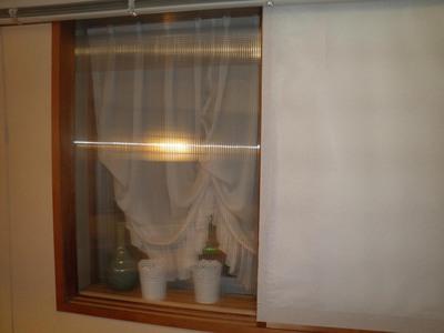 ポリカーボネート二重窓