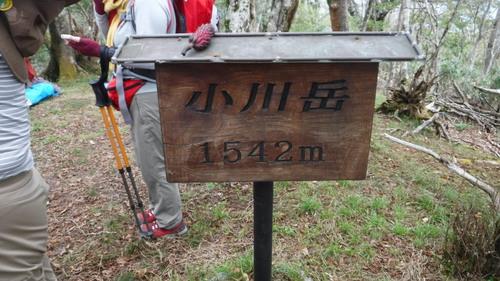 霧立越縦走(小川岳、向坂山、白岩山、扇山)