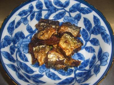 さんまのオリーブオイル煮-1