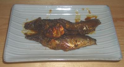 イワシの甘露煮-1