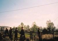 NO..110-★シベリア鉄道~停車駅ホームの村人市場★-