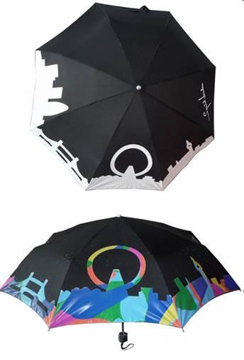 色が変化する傘