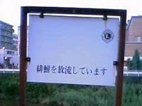 樋井川の看板2