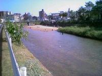 樋井川いかだまつり
