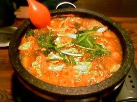 韓国モツ鍋