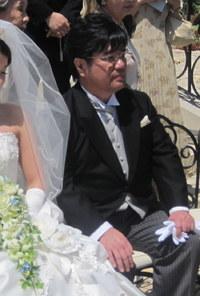 泣いても恥ずかしくない(^^)バージンロード