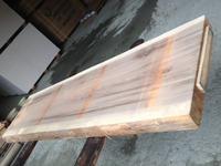 杉の一枚板