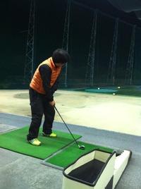 ゴルフのコソ練