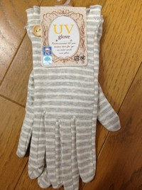 UV手袋にキシリトール配合?!