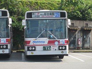 「25」庄山→大牟田営業所(090606大牟田営業所)