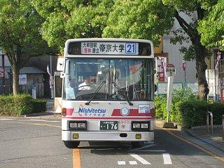 「21」ゆめタウン大牟田→帝京大学(090607大牟田駅前)