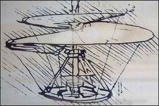 ダビンチのヘリコプター