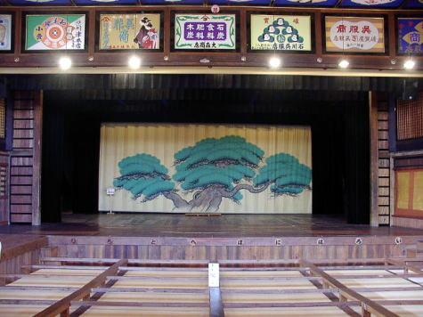 八千代座・舞台