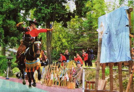 飯盛神社の流鏑馬