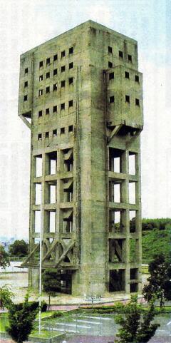 志免・竪坑櫓