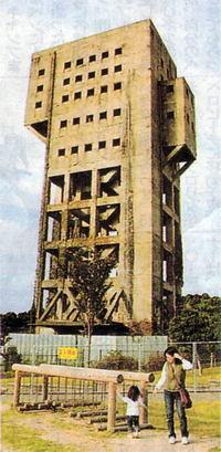 志免町竪坑櫓