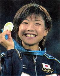 シドニー五輪で優勝した高橋尚子
