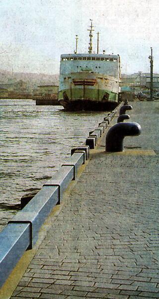 五島・福江港