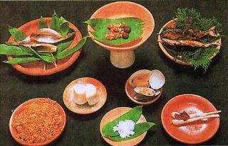 古代の食卓