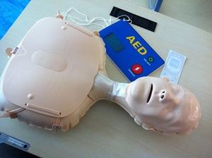 心肺蘇生研修を受けました