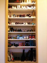 謹賀新年【Web内覧会】靴が並んだシューズクローク