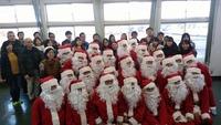 12月23日(土)、朝倉市のチャリティーサンタに参加してきました。