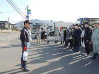 9月24日(日)、福岡発、津久見市と朝倉市での災害ボランティア