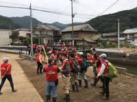 9月30日(土)朝倉市、 10月1日(日)津久見市、福岡発のボランティアバス