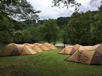 日田市大鶴地区、宿泊テント情報