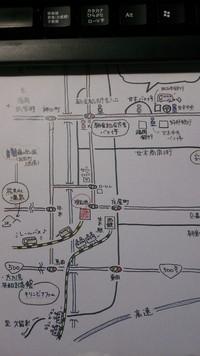 朝倉市ボラセンへの公共交通期間でのアクセス(その3)