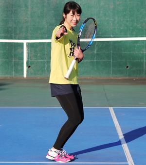 ITS宮崎優実テニス